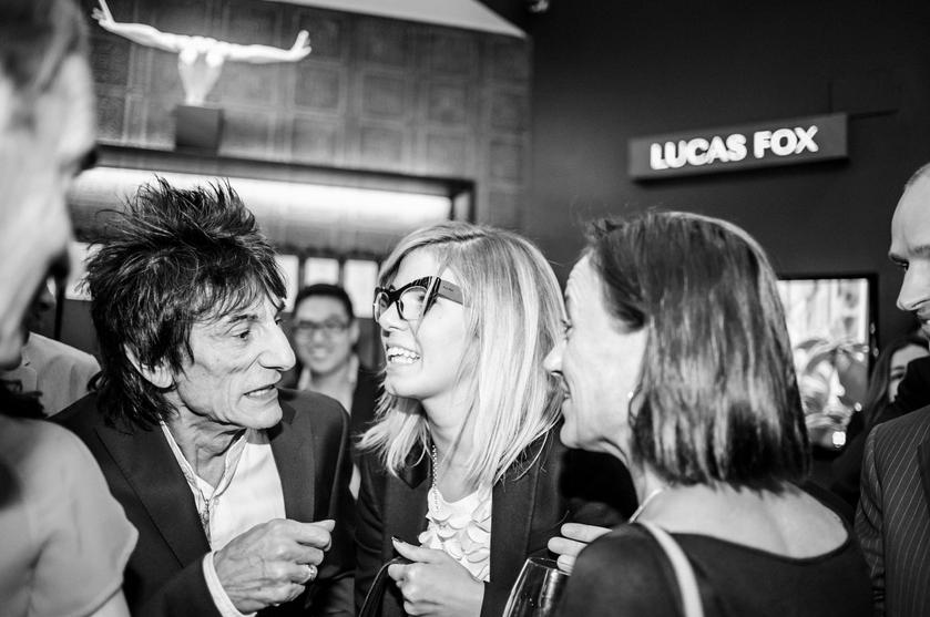 Ronnie Wood en Barcelona, Lucas Fox, 21deMarzo
