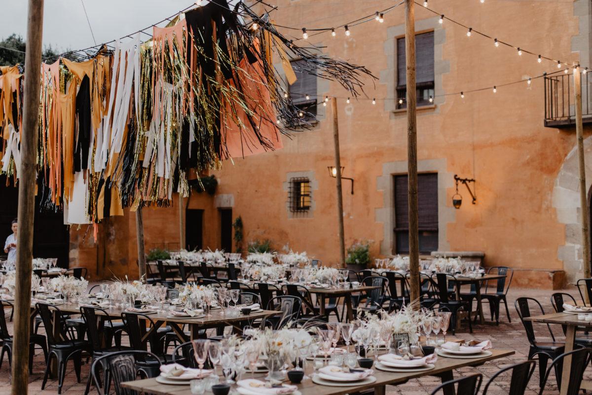 Una boda en Masia Egara