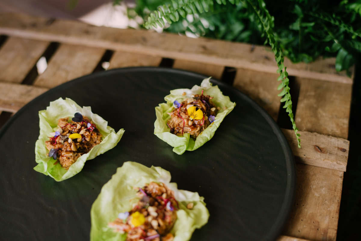 Pulled Jack fruit Vegetable Tacos
