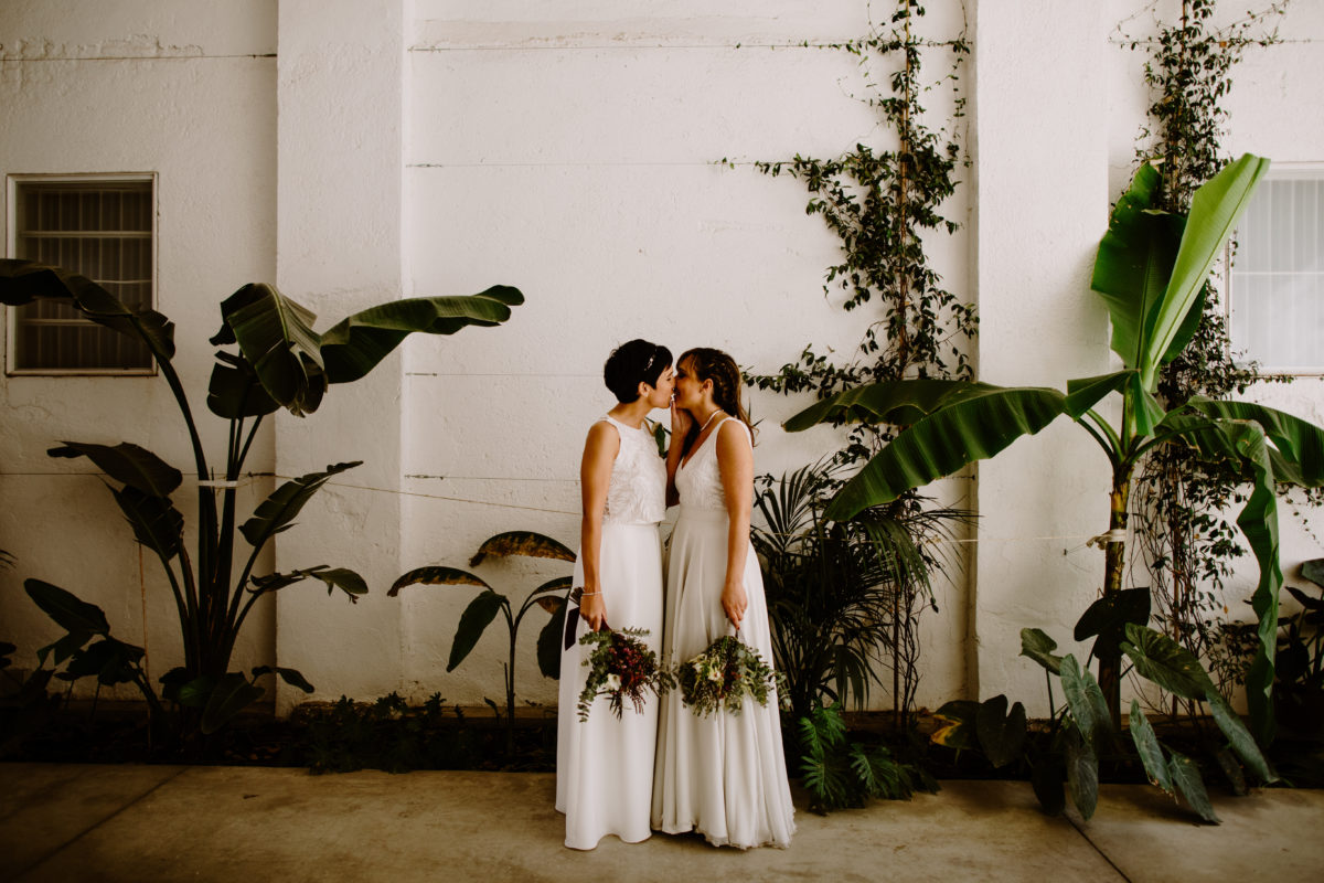 ¡Así es una boda de estilo industrial!