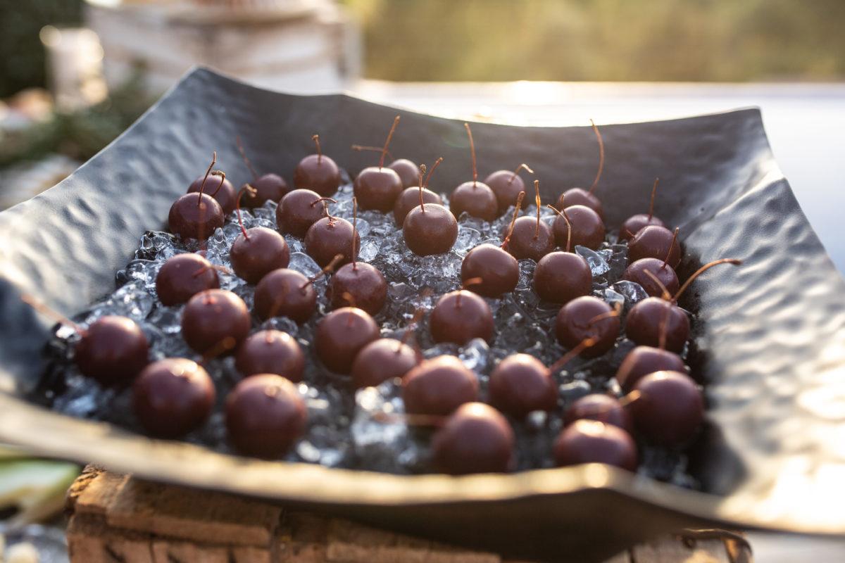 Cherimized cherries