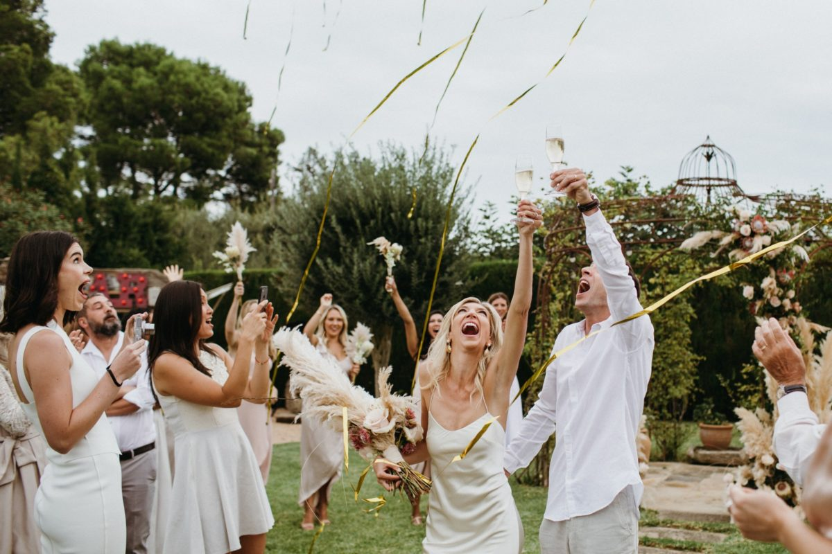 Una boda en Can Casi
